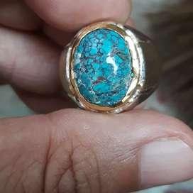 Natural Pirus Biru Tosca ( Turquoise )