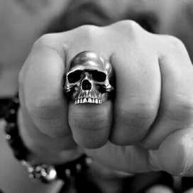 skull ring import  china