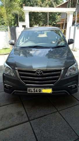 Toyota Innova 2.0 V, 2014, Diesel