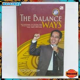 Buku Self Improvement Ori By Sutrisna Suryadilaga   The Balance Ways