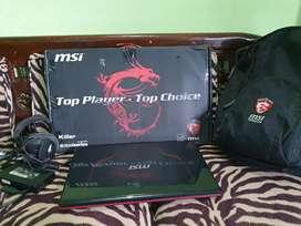 Laptop gaming MSI GE70 GTX 765 fullset