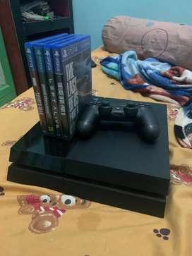 PS 4 biasa memori 500gb