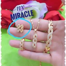 Cuping lapis emas 18 k