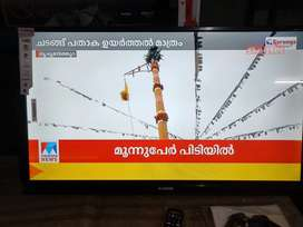 Limor 40 inch smart LED TV with 3 year warranty at aluva
