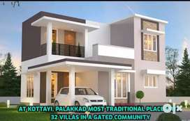 4cent  Land + 3BHK luxurious villa for sale in Kottayi with EMI option