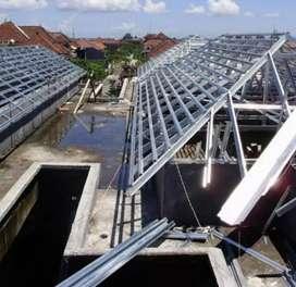 melayani pemasangan atap baja ringan ANTI BOCOR
