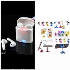 Buy ear phone and phone stand free..