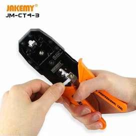 Tang Krimping RJ45 JAKEMY JM CT4-3 Plier crimping LAN Ethernet CAT5/6