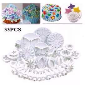 Cake decoration isi 33 pcs