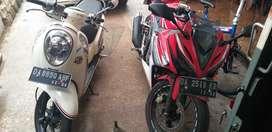 Jual Honda CBR 150 R led 2017 Merah Putih