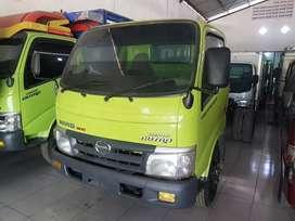 Dump Truk Dutro 130 HD asli plat H power steering