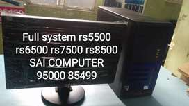 New look Full system rs6500 rs7500 rs8500SAi computer