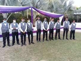 staffs  :- waiters Security guard
