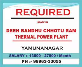 HPGCL Deen Bandhu Chotu Ram Thermal Power Plant