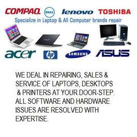 REPAIR AND SERVICE OF LAPTOP COMPUTERS
