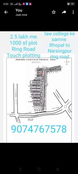 Plot in prime location best for investment