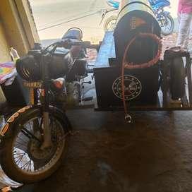 Bullet BBQ Bike