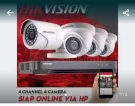 paket kamera cctv murah free intalasi harga nego