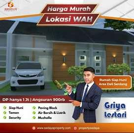 Rumah Murah Bandara Kualanamu Griya Lestari (Bersubsidi) Strategis..
