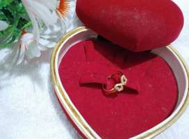 cincin xuping motif pita