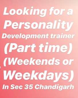 Personality development trainer