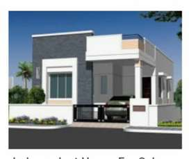 HMDA & RERA independent houses only  43 lakhs @ PATANCHERU ORR exit 3