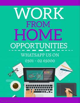 We are providing casual & part time job youngster, simple typing job