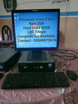 Core 2 Duo System + LCD Complete Setup