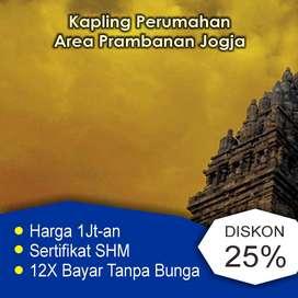 Kapling Murah, Tanah Utara Prambanan, SHM Ready