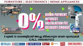 Furniture & Electronics at 0% EMI in NALANCHIRA with Free Delivery