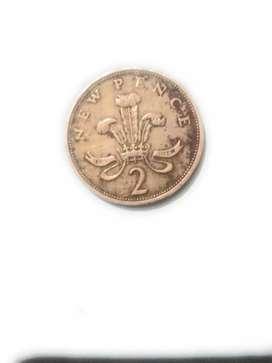 Elizabeth old coin