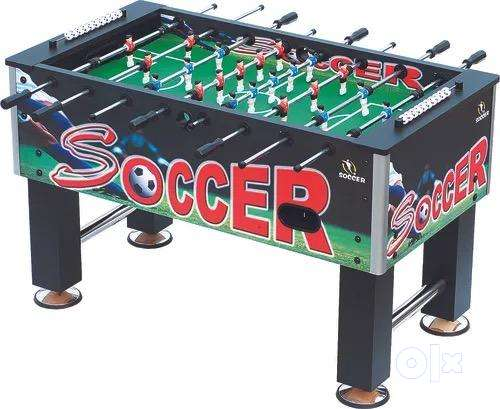 Largest size Foosball Table , hardly used . 0