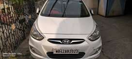 Hyundai verna 2014 with 4brand new Tyre,excellent condition, tax clear