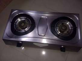 Gas stove (stainless steel)