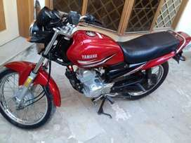 yamaha ybz125 2018 used but neat &cleen new big fat tyres instal
