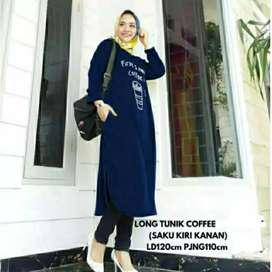Tunik coffee fashion