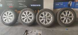 "Ford Figo 14"" Alloy and MRF tyre"