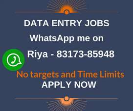 Work from home. Earn monthly 28,000/-. Simple data entry jobs.