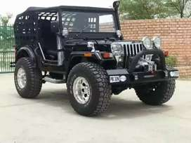 Full modified Jeep ready your booking to All States transfer