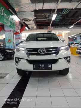 Toyota Fortuner 2.4 VRZ 2016 diesel putih metik harga kredit murah