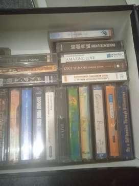 Koleksi kaset pita khotbah dan lagu rohani kristen