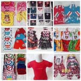 Paket Usaha Grosir Baju Bayi & Anak Model Campur