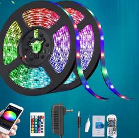 RGB Led Strip Light SMD 5050 Waterproof Remote Control Color Changing