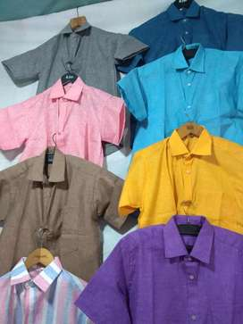 Summer cotton (khadi style) shirts & kurta s