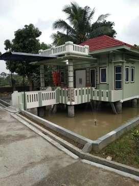 Rumah villa dan pemancingan di kab bogor, jabar