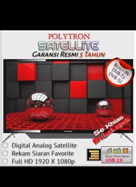 BARU & BERGARANSI RESMI Polytron PLD 43TS156 TV LED 43 Inch BLUETOOTH