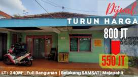 Turun harga Tanah Bonus Rumah belakang #samsat, pedurungan, semarang