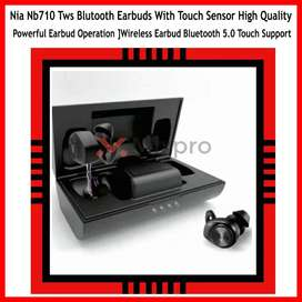 New 2021 Nia Nb710 Tws Blutooth Earbuds With Touch Sensor