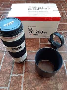 Lensa tele 70 200 F 1.4 L USM