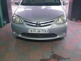 Toyota Etios Liva - 2012 - 82000Kms - Single Owner- TN10AH1793